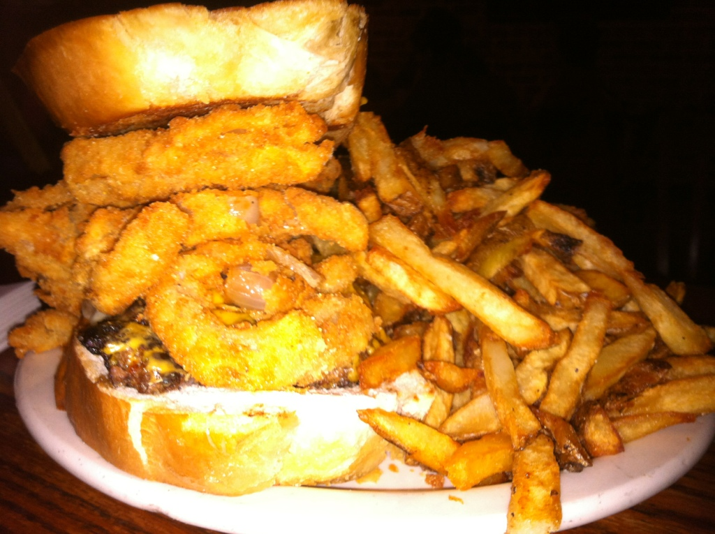 ... Inn – Ridiculous Sandwich (Ultimate Patty Melt) Dine at Joe's