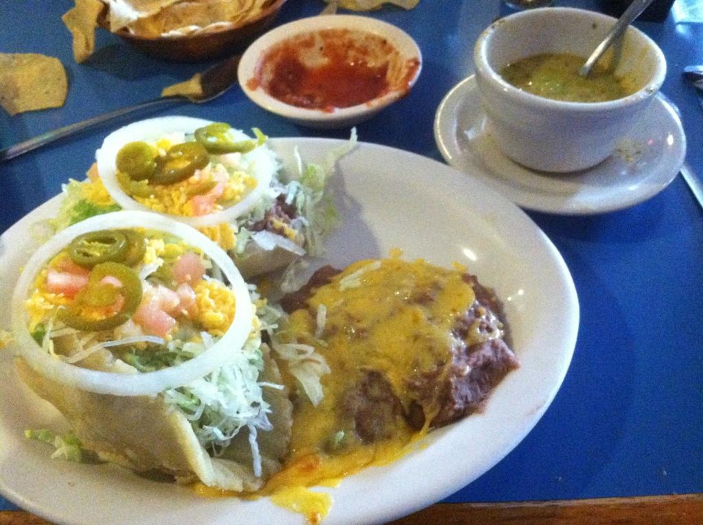La Fiesta Patio Cafe U2013 Puffy Tacos