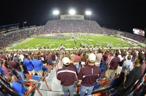 Independence Bowl Fisheye