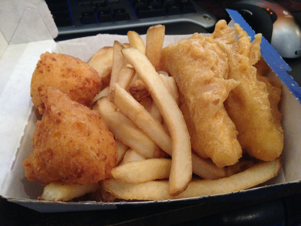 Long john silvers two fish combo dine at joe 39 s for Long john silver s fish and chips
