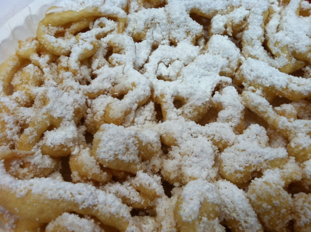 Funnel Cake at the Texas State Fair